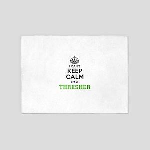 THRESHER I cant keeep calm 5'x7'Area Rug