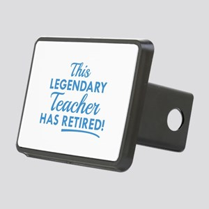 Legendary Retired Teacher Rectangular Hitch Cover