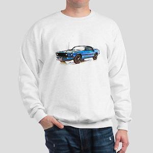 MUSTANG MACH 1 FASTBACK 1969 Sweatshirt