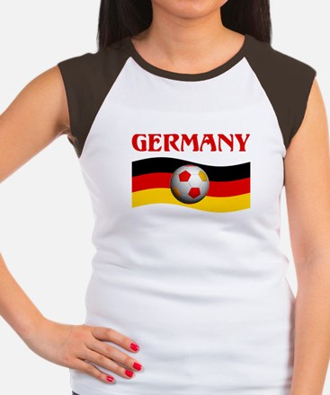 TEAM GERMANY WORLD CUP Women's Cap Sleeve T-Shirt