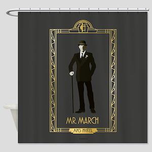 American Horror Story Hotel Mr. Mar Shower Curtain
