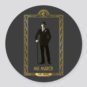 American Horror Story Hotel Mr. M Round Car Magnet