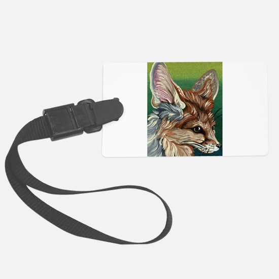 Fennec Fox Luggage Tag