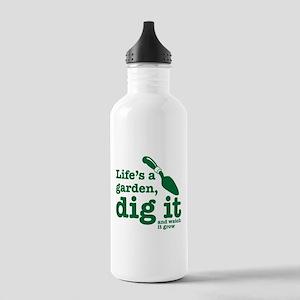 Life's A Garden Water Bottle