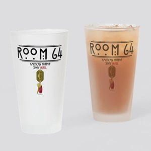 American Horror Story Hotel Room 64 Drinking Glass