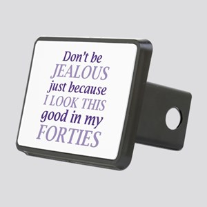 Look Good Forties Rectangular Hitch Cover