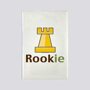 Rook Rookie Chess Piece Rectangle Magnet