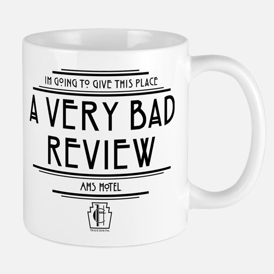 American Horror Story Hotel Bad Review Mug