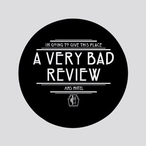 American Horror Story Hotel Bad Review Button
