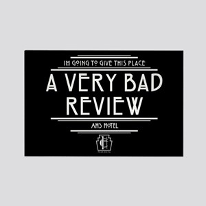 American Horror Story Hotel Bad R Rectangle Magnet