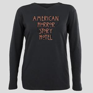American Horror Story Ho Plus Size Long Sleeve Tee