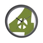 For Peace Wall Clock