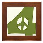 For Peace Framed Tile