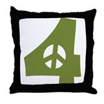 For Peace Throw Pillow