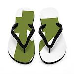 For Peace Flip Flops