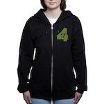 For Peace Women's Zip Hoodie