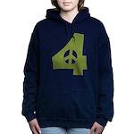 For Peace Women's Hooded Sweatshirt