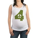 For Peace Maternity Tank Top