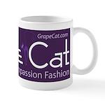 Grape Cat Mug