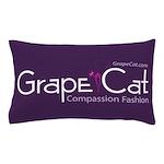Grape Cat Pillow Case