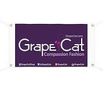 Grape Cat Banner