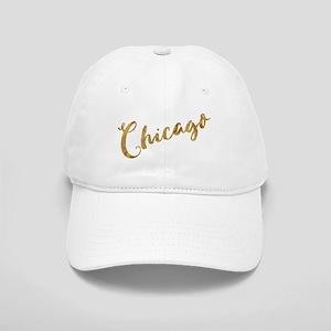 Golden Look Chicago Baseball Cap