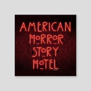 "American Horror Story Hotel Square Sticker 3"" x 3"""