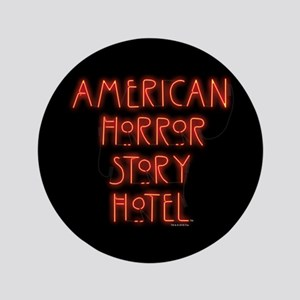 American Horror Story Hotel Neon Sign Button
