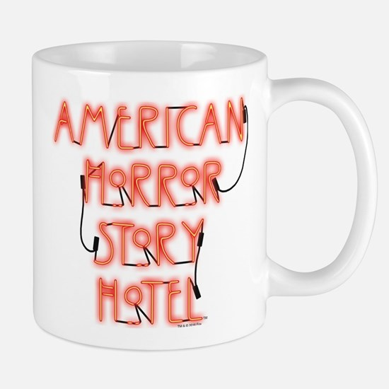 American Horror Story Hotel Neon Sign Mug