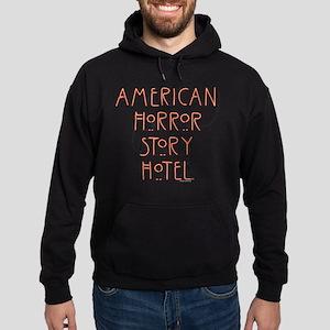 American Horror Story Hotel Neon Sig Hoodie (dark)