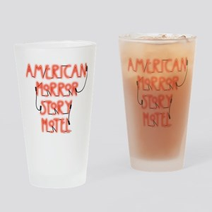American Horror Story Hotel Neon Si Drinking Glass