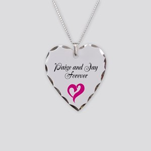 Paige And Jay Necklace Heart Charm