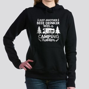 Beer Drinker Camping Hooded Sweatshirt