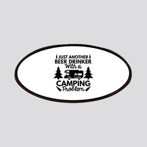 Beer Drinker Camping Patches