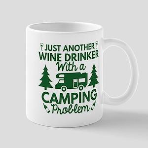 Wine Drinker Camping Mug