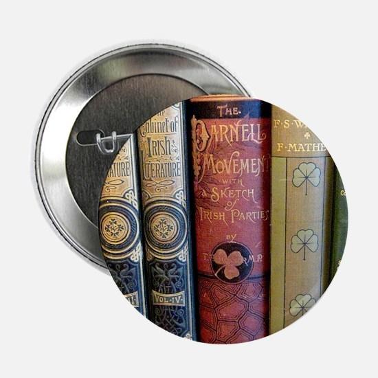"""Cute Literary 2.25"""" Button"""