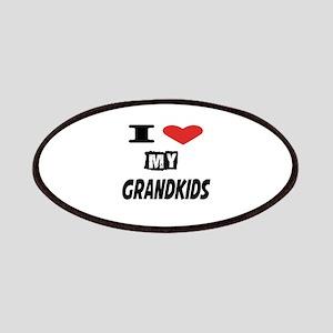 I Love My Grandkids Patch