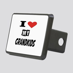 I Love My Grandkids Rectangular Hitch Cover