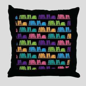 Book Lover Librarian Reader Throw Pillow