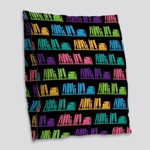 Book Lover Librarian Reader Burlap Throw Pillow