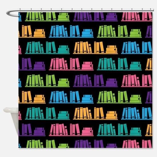 Book Lover Librarian Reader Shower Curtain