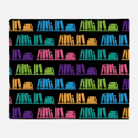 Book Lover Librarian Reader Throw Blanket