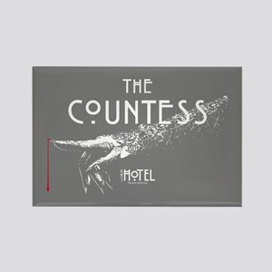 American Horror Story Hotel The C Rectangle Magnet