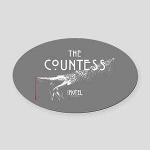 American Horror Story Hotel The Co Oval Car Magnet