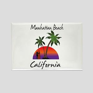 Manhattan Beach California Magnets