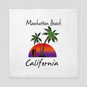 Manhattan Beach California Queen Duvet