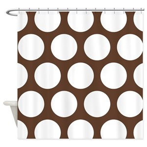 Dark Chocolate Shower Curtains