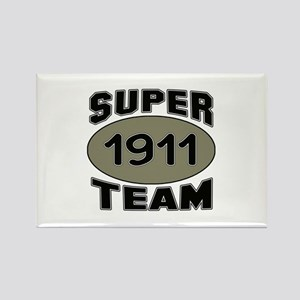 Super Team 1911 Rectangle Magnet