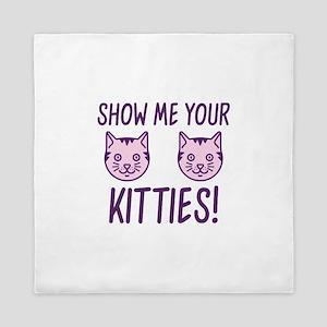 Show Me Your Kitties! Queen Duvet