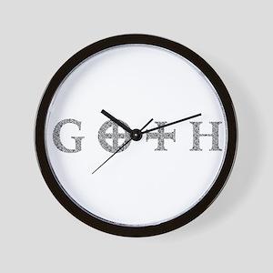 Goth Wall Clock